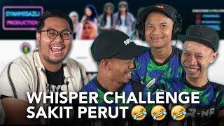 Whisper Challenge Pecah Perut Bersama Syahmi, Asif \u0026 Yoe :D