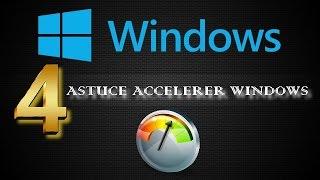 COMMENT ACCÉLÉRER SANS ★LOGICIEL★ SON PC WINDOWS 7   8   10