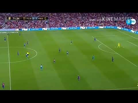 Best game of barcelona and real madrid