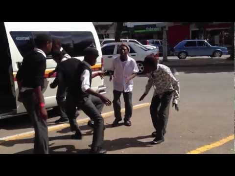Kwaito street dancing - South Africa