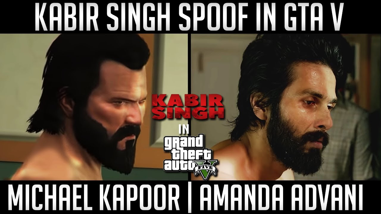 Kabir Singh Spoof | Kabir Singh Trailer in GTA 5 | Shahid Kapoor | WackDance Gaming