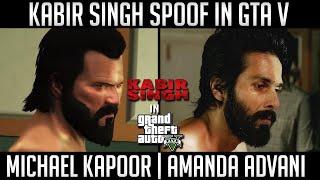 Kabir Singh Spoof | Kabir Singh Trailer in GTA 5 | Shahid Kapoor | WackDance Gaming