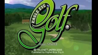 """[Ps2] Introduction du jeu """"Eagle Eye Golf"""" de l"""