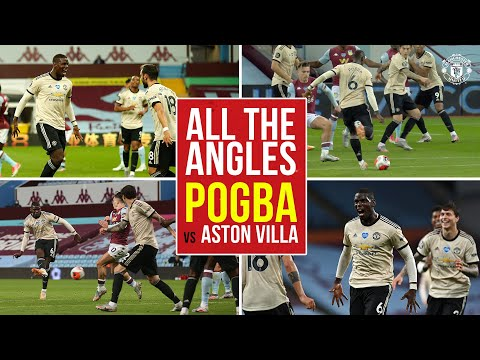 All the Angles | Pogba returns to the scoresheet at Villa Park! | Aston Villa 0-3 Manchester United