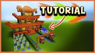 CASA JAPONESA COMO CONSTRUIR en Minecraft