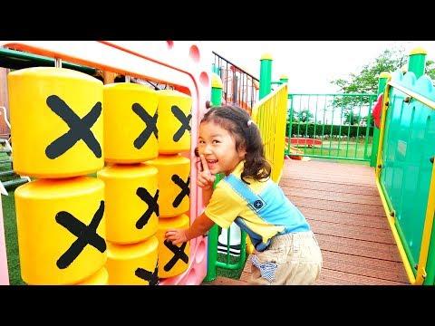 ●普段遊び●公園で遊んでたら恐竜が出た!!!まーちゃん【6歳】おーちゃん【4歳】#597