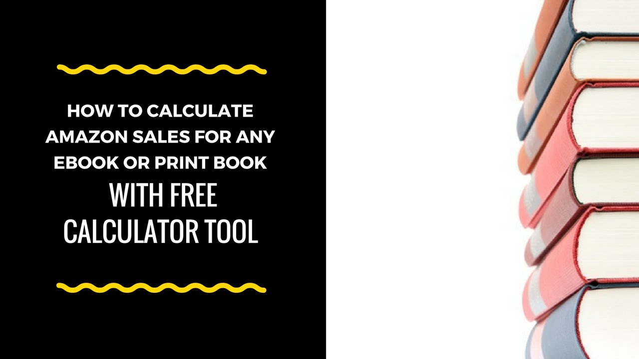 amazon sales calculator