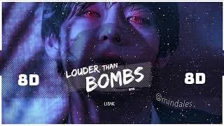 ⚠️ [8D] BTS - LOUDER THAN BOMBS | BASS BOOSTED STADIUM EFFECT | [USE HEADPHONES ONLY 🎧] 방탄소년단 MOTS 7