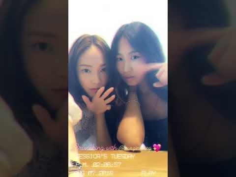 2018/8/7 jessica.syj Instagram Story update1(Jessica Jung)
