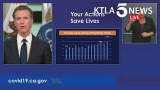 Coronavirus: California reports 7,149 new cases in 24 hours