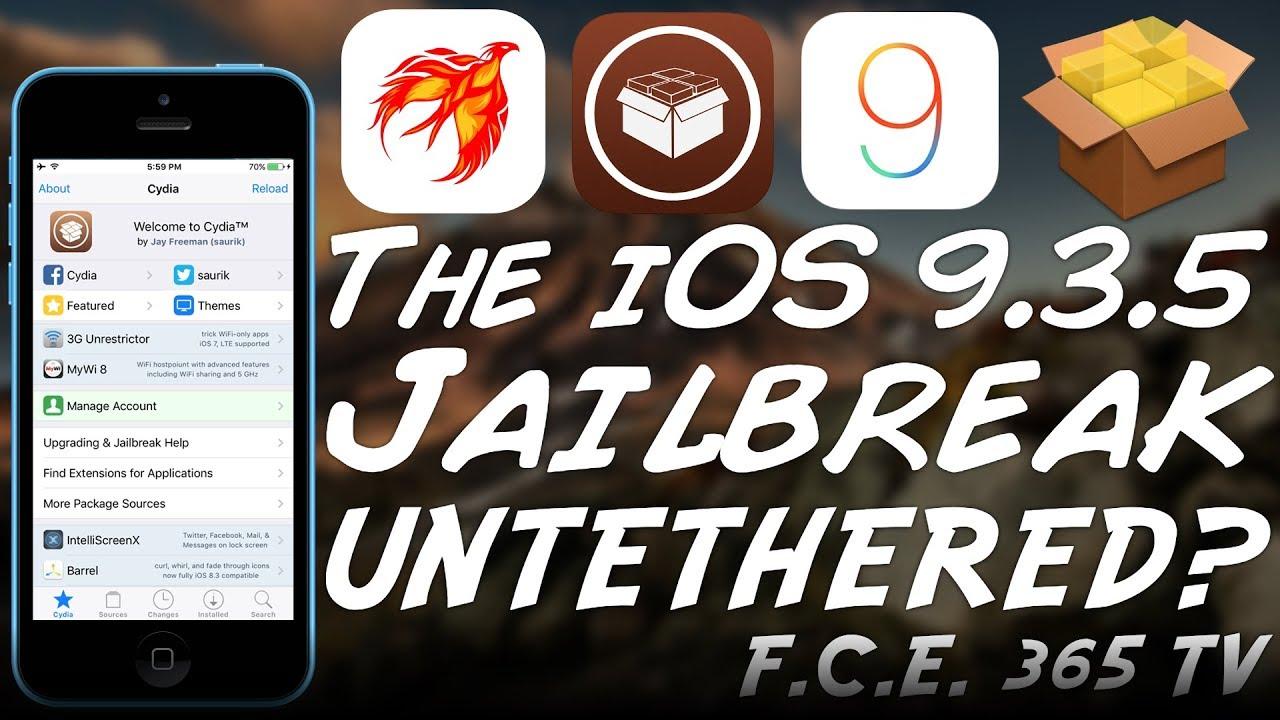 Phoenix UNTETHERED Jailbreak For 32-Bit iOS 9 3 5 ANNOUNCED