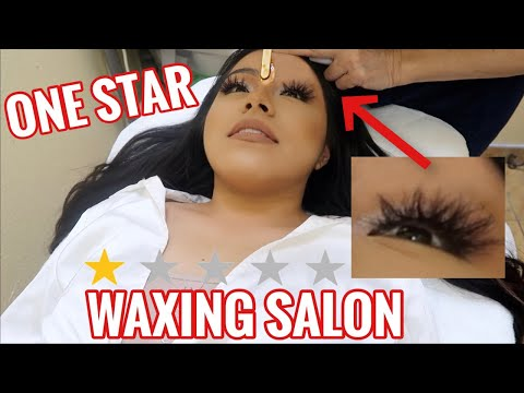 GOING TO THE WORST WAXING SALON IN MY CITY (ALLERGIC!!!!)