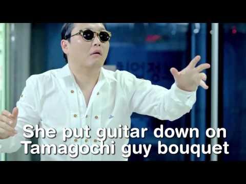 PSY - GANGNAM STYLE Misheard Lyrics (Interpretation)