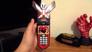 Super MegaForce Legendary Morpher Vs Gokaiger Mobirate