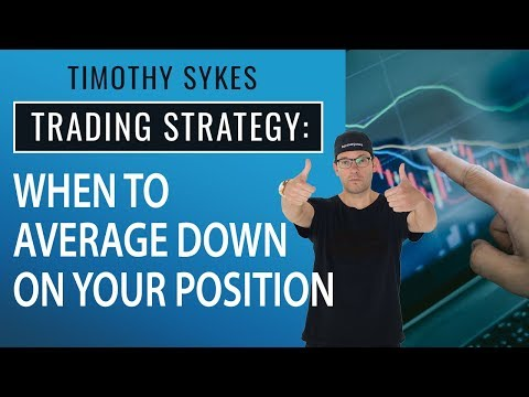 Trading Strategy: When To Average Down On Your Position