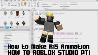 Comment Roblox Studio Pt1 - Comment faire R15 Animation (Comme ObliviousHD)
