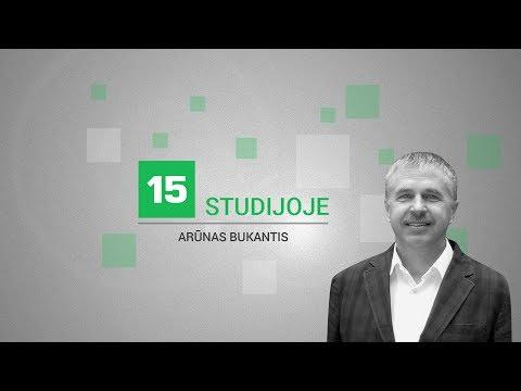 15min studijoje — pokalbis apie orus ir klimato pokyčius Lietuvoje