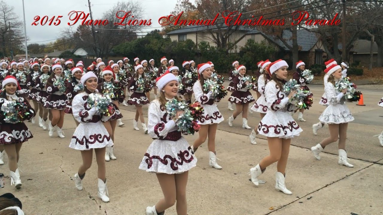 2015 Plano Lions Annual Christmas Parade - YouTube