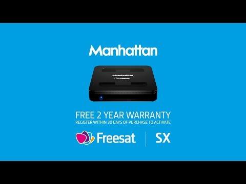 Manhattan SX Freesat HD box overview - YouTube
