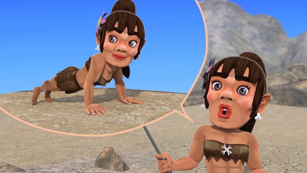 Aventuras de Oko y Lele   Episodio 35 - Cómo Hacer Flexiones de Codos   Dibujos Animados Divertidos