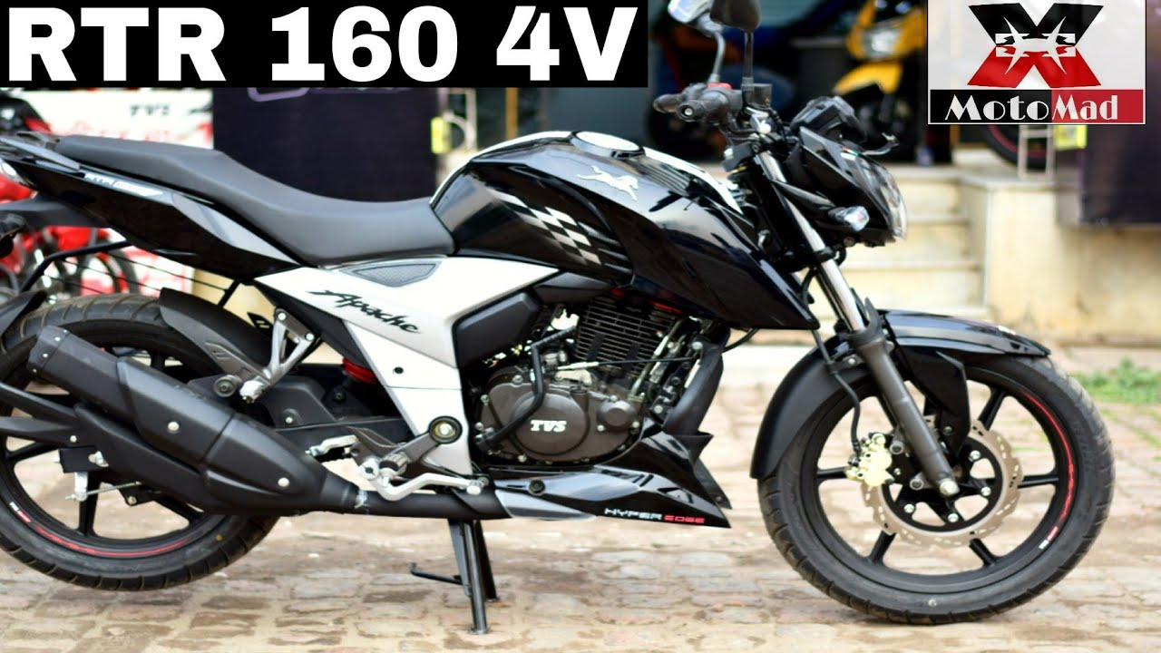 Apache Rtr 160 4v Full Review Road Test Mileage Price