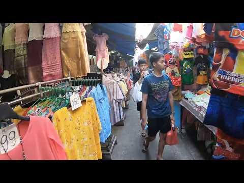 Walking in Bangkok, Thailand - Little India Phahurat Road Series Part 1