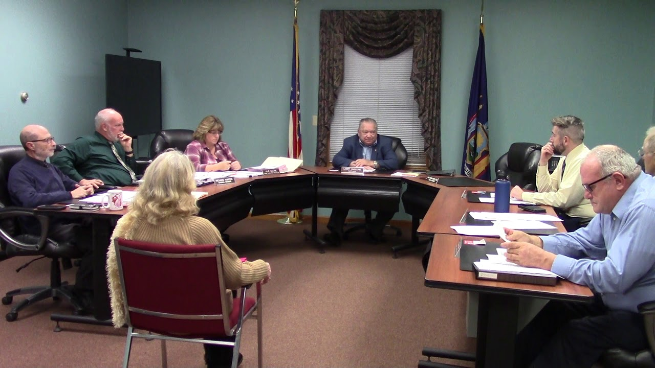 Champlain Town Board Meeting  11-12-19