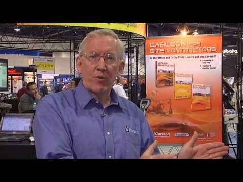 Carlson Software Overview - Live from ConExpo 2011, Las Vegas, Nevada