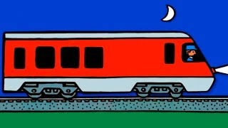 Обзоры мобильных игр - мультфильм про поезда, паровозы и электрички