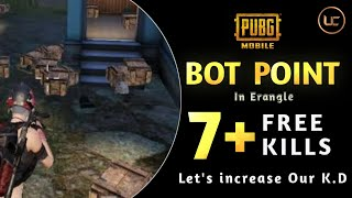 Bot Point in PUBG Mobile  | Funny Gameplay  | Telugu