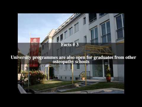 Vienna School of Osteopathy Top # 5 Facts