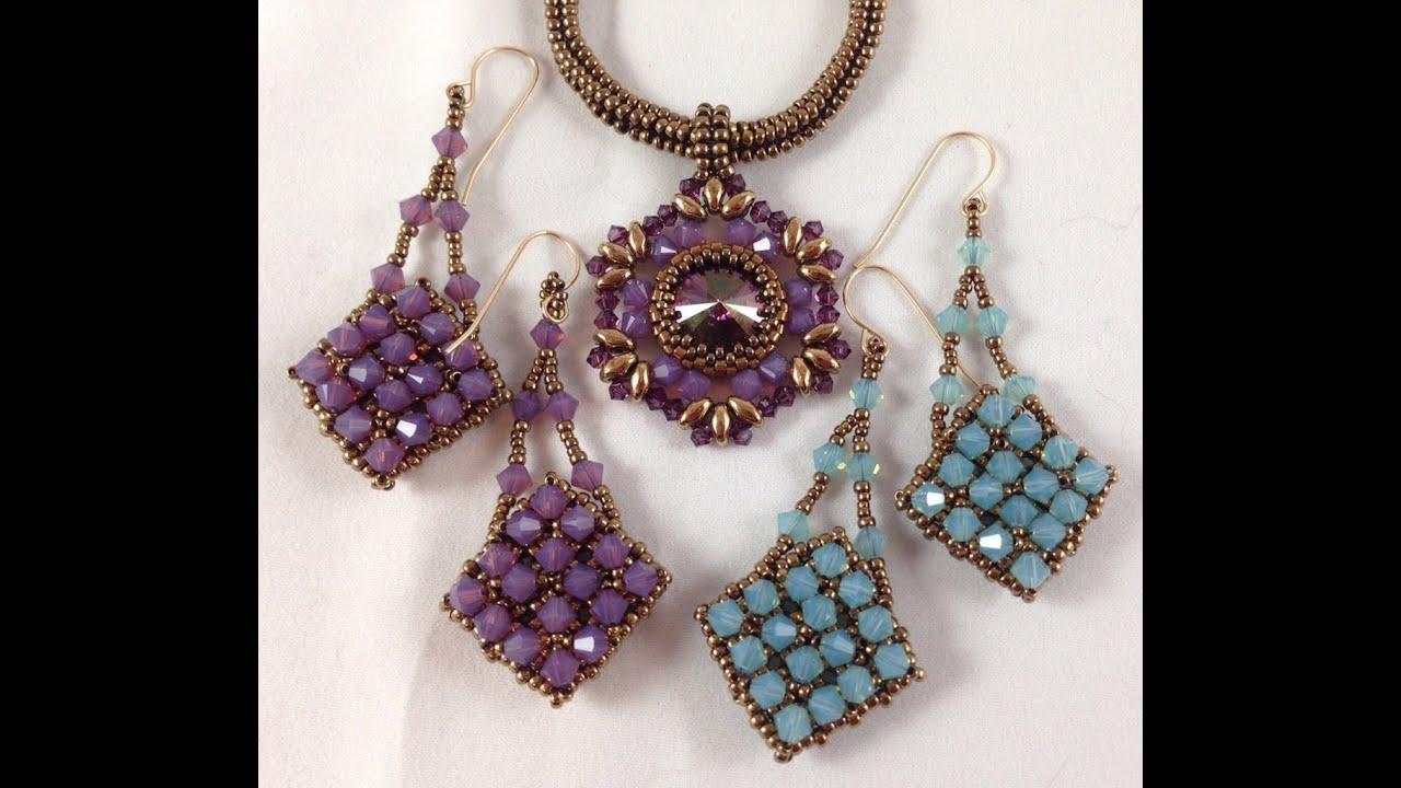 crystal dreams earrings youtube
