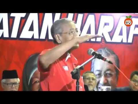 TERKINI 2017: RIBUAN HADIR TUN MAHATHIR BERUCAP DI PELANCARAN PAKATAN HARAPAN JOHOR
