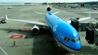 KLM MD-11 - Complete Flight - (PH-KCD) SFO-AMS