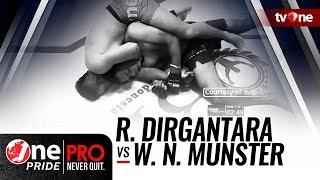 [HD] Rysanda Dirgantara vs Willem N. Munster || One Pride Pro Never Quit #25