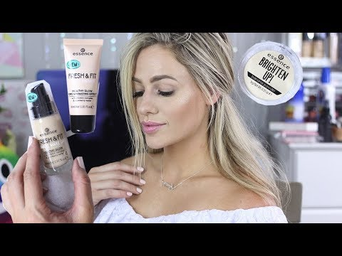 Essence Review Demo New Fresh Fit Awake Primer And