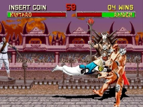 Mortal Kombat 2 Raiden Gameplay Playthrough