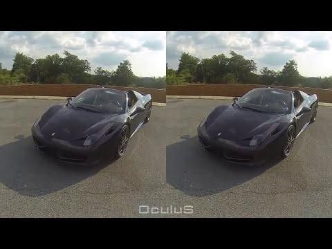 3D VR Sanal Gerçeklik Araba Videosu