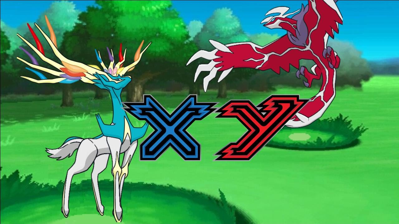 Shiny Zygarde, Xerneas + Yveltal - YouTube
