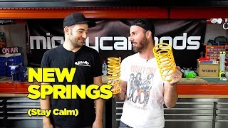 We Got Springs + Crap Car + The Skid Factory