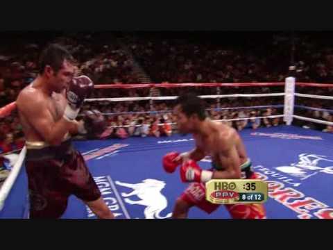 Pacquiao vs Dela Hoya Round 8