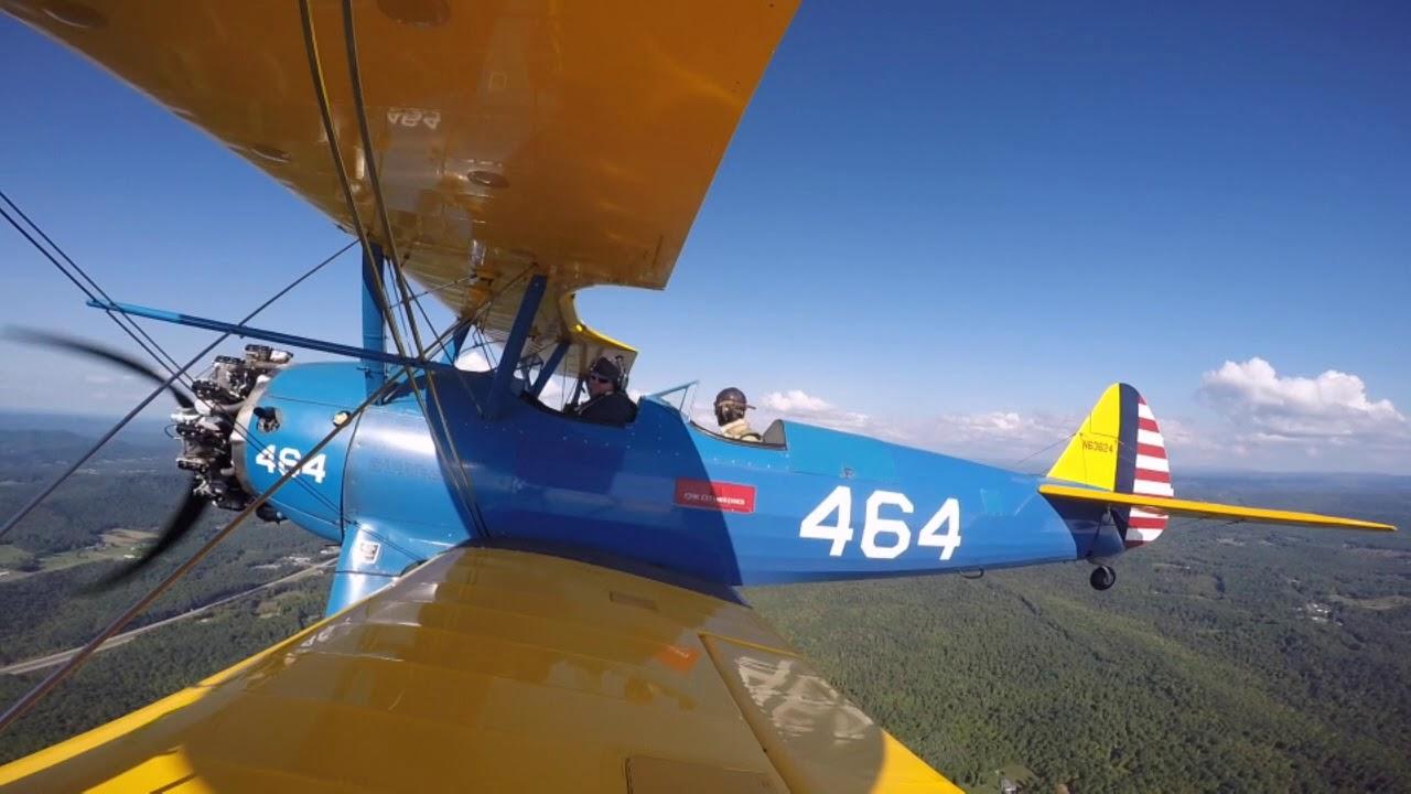 Stearman Biplane Ride Over New River Gorge   Dodge