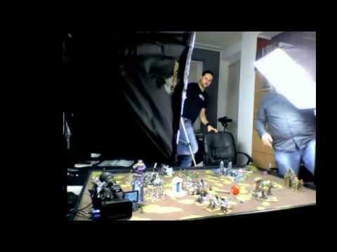 Live Test - Denis und Stefan zeichnen Battle Report von Age of Sigmar für Folge 20 von DICED auf
