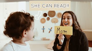VLOG | My 1Year Old is READING!