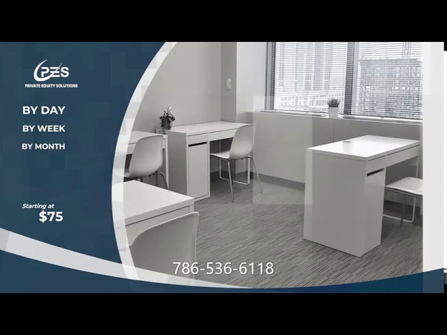 Short-term office rental solutions in Downtown Orlando