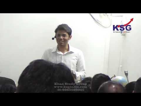 Rishav Mandal, AIR 58 UPSC CSE 18, Interaction, Seminar, April 2019, Patna, KSG India