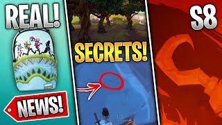 Fortnite News | Sharky Shrubs Secret, Bundle Extended, S8 Teaser #1, Wailing Woods Dying & More!