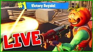 TOMATOHEAD with Mini NINJA Victory Royale on Live Stream :)