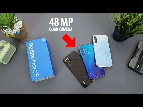 2,4jt.. XIAOMI REDMI NOTE 8, Test 48MP Quad Camera + Game PUBGM