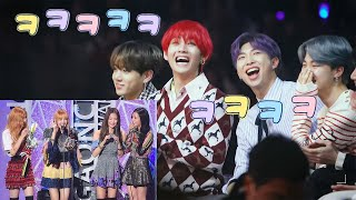 BTS And Blackpink Moments That I Think About Alot [Kpop HN]